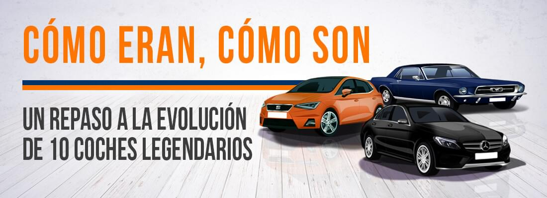La evolucion de 10 coches legendarios