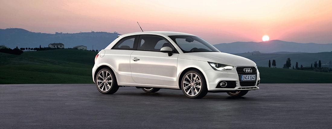 Audi A1 blanco