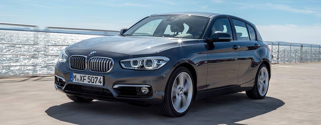 BMW Serie 1 blanco